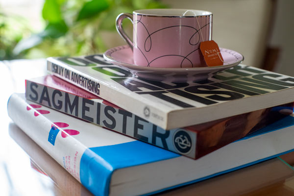 Books by Sagmeister,